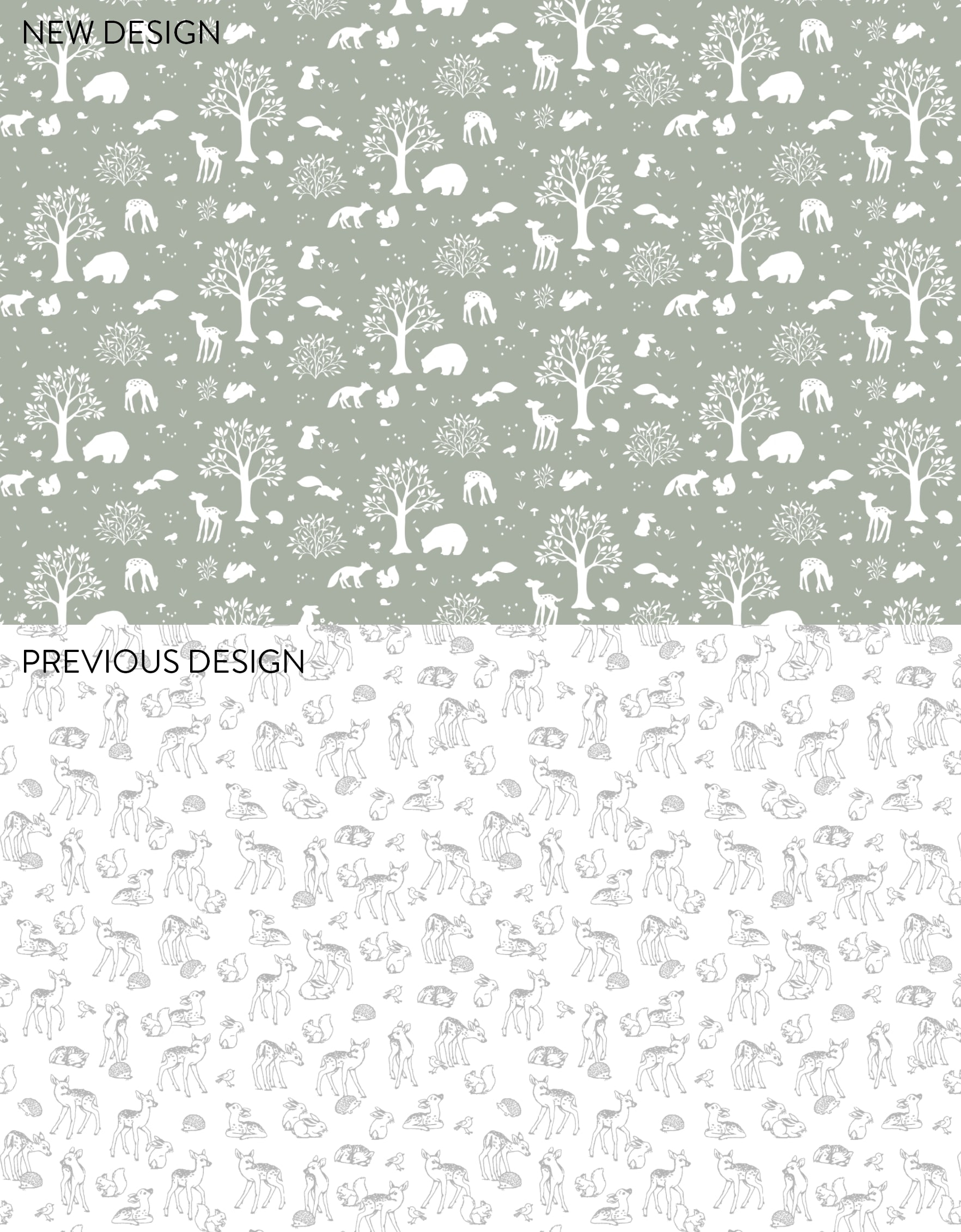 Nina Stajner's latest custom tissue paper design