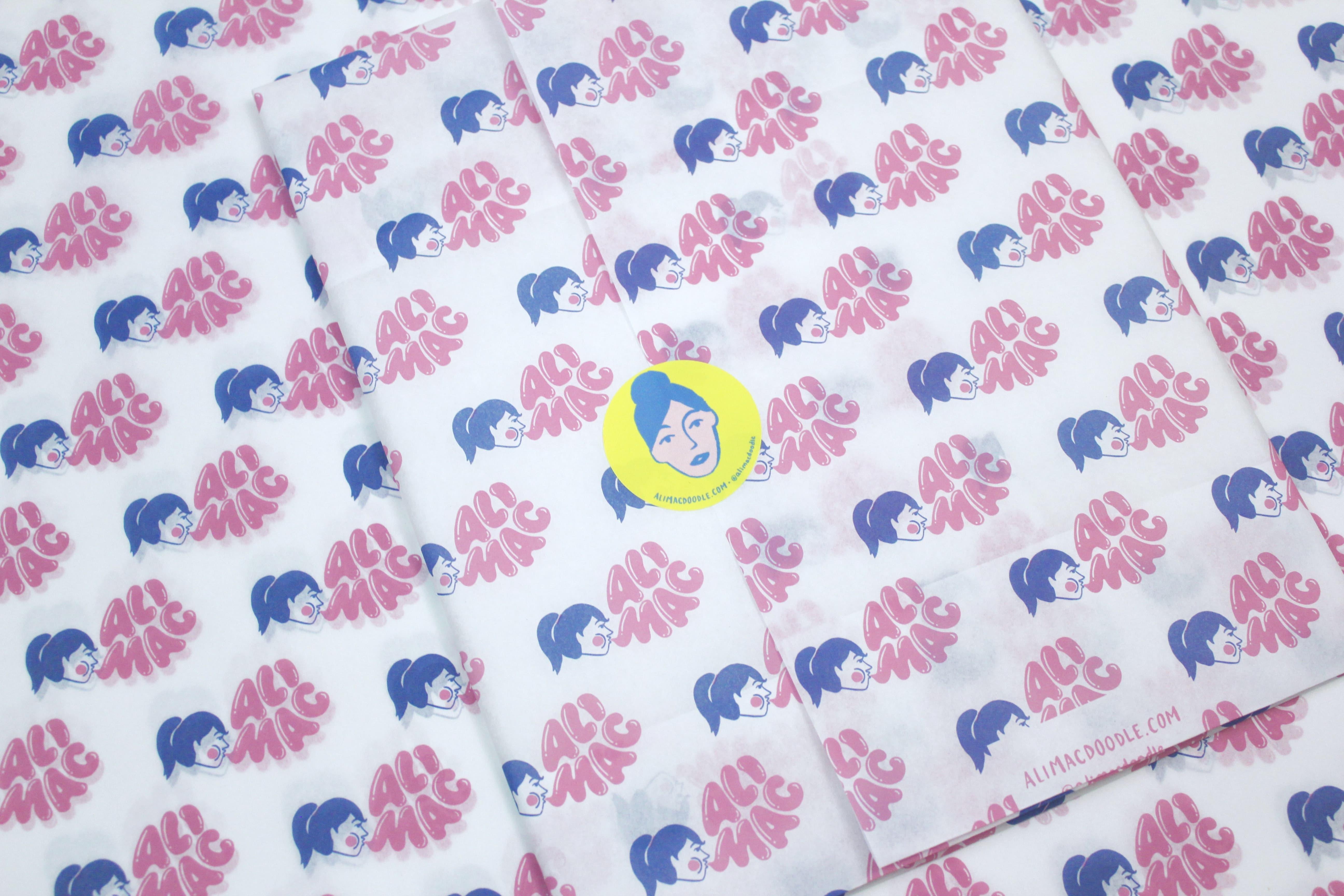Ali Mac custom tissue paper