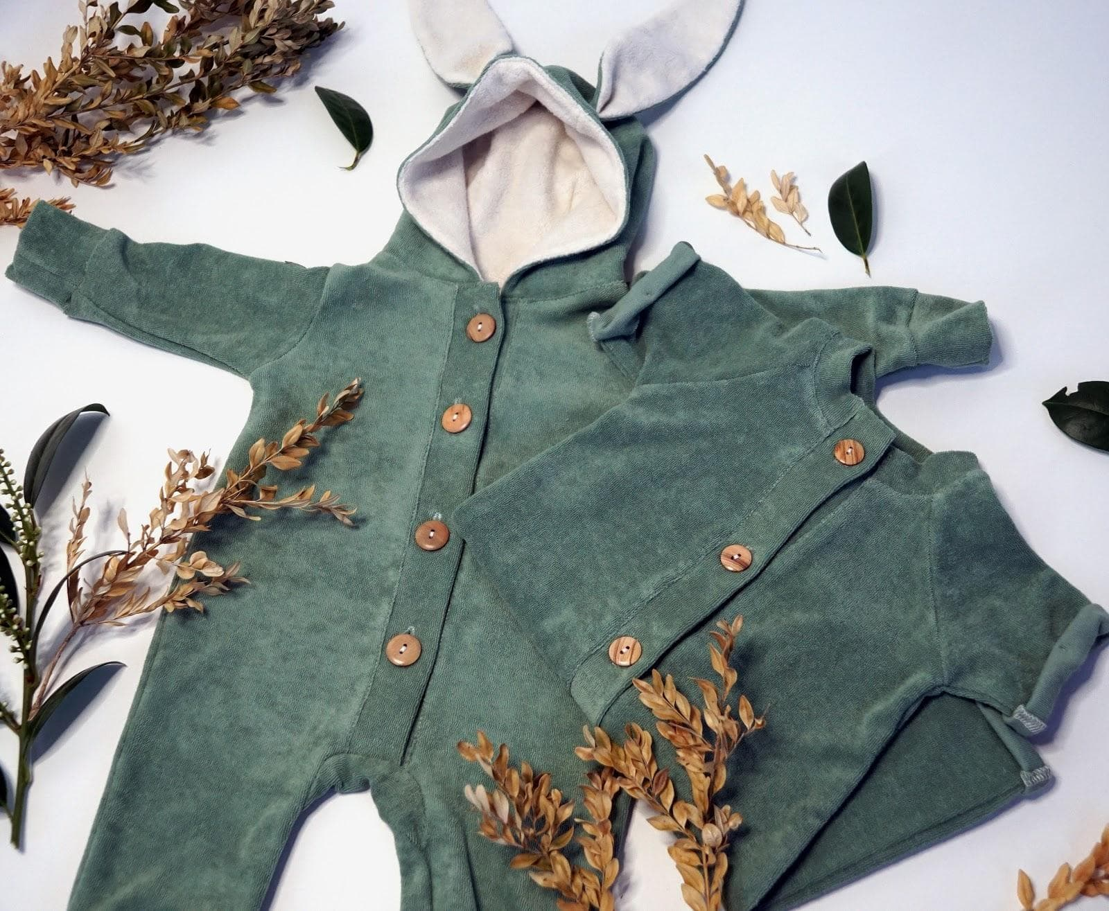 Green romper suit from Boxx Kids