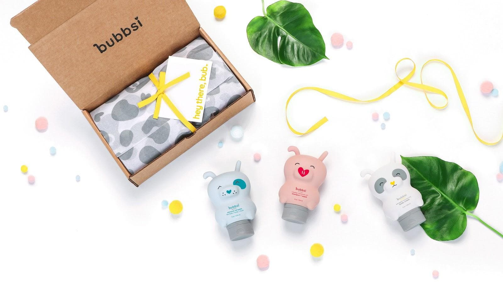 Bubbsi Skincare custom tissue paper